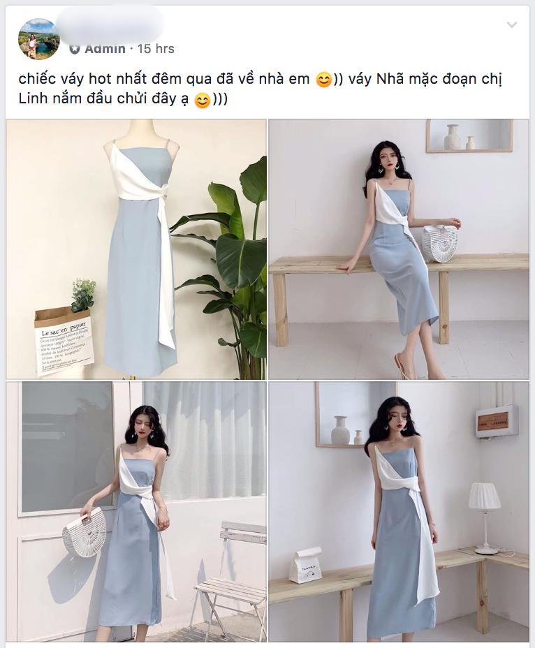 Nhã tiểu tam Về Nhà Đi Con bị bóc mẽ photoshop ảo lòi nhưng vẫn cháy inbox chỉ vì khán giả hỏi thăm mua váy-5