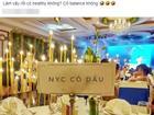 Bức ảnh của 1 đám cưới gây xôn xao mạng xã hội: Ai cũng tò mò khuôn mặt cô dâu thế nào...