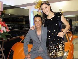 Vợ siêu mẫu của Nhậm Đạt Hoa vội bay đến Quảng Đông chăm chồng