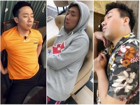 BB Trần 'dìm hàng' Trấn Thành bằng loạt ảnh ngủ xấu ở Running Man