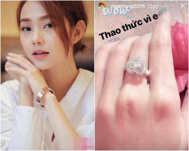 Tưởng Minh Hằng đeo nhẫn kim cương ngón áp út là sắp có đám cưới, nào ngờ khán giả bị hố vố to!-3
