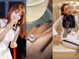 Tưởng Minh Hằng đeo nhẫn kim cương ngón áp út là sắp có đám cưới, nào ngờ khán giả bị 'hố' vố to!