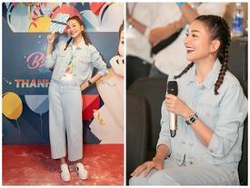 Siêu mẫu Thanh Hằng trổ tài ca hát khiến fans đứng ngồi không yên