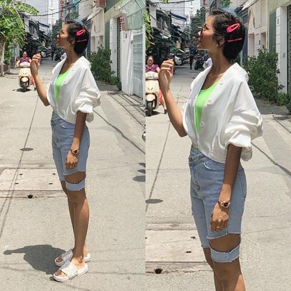 Bản tin Hoa hậu Hoàn vũ 21/7: HHen Niê mặc quần jeans kỳ cục, phong cách lép vế toàn tập giữa rừng mỹ nhân-1