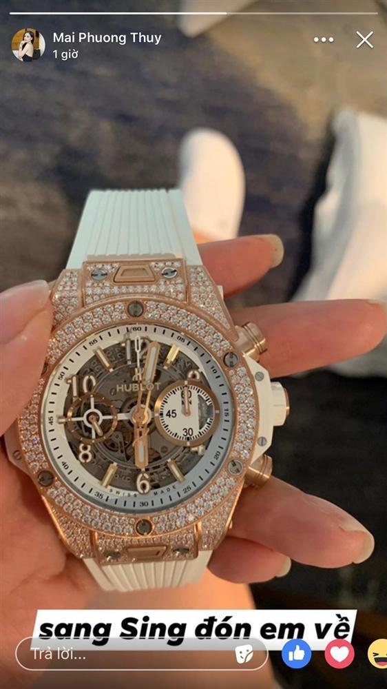 Tự cảm thấy hơi đàn ông, Mai Phương Thúy đặt đồng hồ to trị giá gần 1,4 tỷ để đeo-3