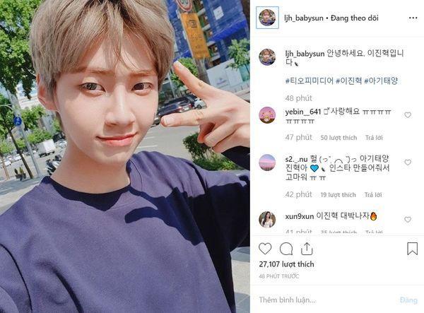 Produce X 101: Lee Jin Hyuk ra mắt tài khoản Instagram, đổi nghệ danh và kế hoạch tương lai-4