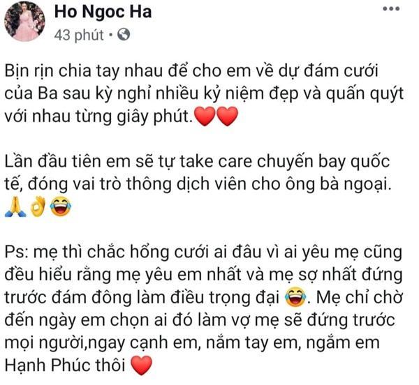 Hồ Ngọc Hà lấp lửng không làm đám cưới với Kim Lý