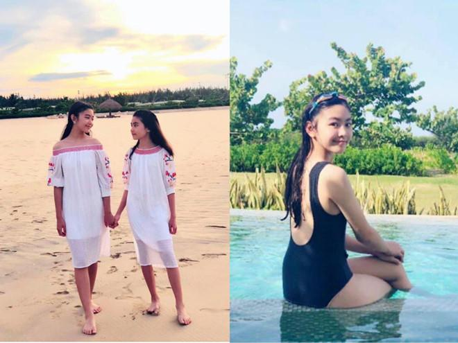 Con gái lớn của MC Quyền Linh được khen xinh như hoa hậu-1