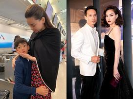 Tiễn con trai về nước dự hôn lễ Cường Đô La, Hồ Ngọc Hà bất ngờ lấp lửng không cưới Kim Lý?