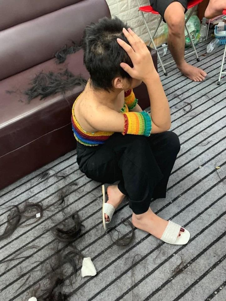 Hotgirl 15 tuổi bị đánh ghen dã man, cắt trụi tóc vì ngủ với chồng chị chủ để… trả ơn-4