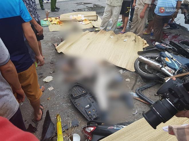 Hiện trường ám ảnh, không dám nhìn vụ đứng xem tai nạn khiến ít nhất 6 người tử vong tại Hải Dương-15