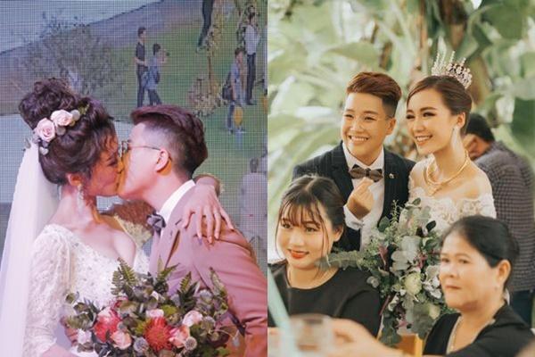 Vợ hát chồng đọc rap - cặp đôi đồng tính nổi tiếng LGBT biến đám cưới thành thiên đường âm nhạc đậm sắc màu-1