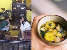 Quán trà được Huệ và Dương trong 'Về nhà đi con' ngồi tâm tình bỗng nổi như cồn vì được 'đóng phim hot'