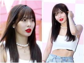 HyunA tiếp tục hở áo ngực sau ồn ào mặc phản cảm tại sự kiện