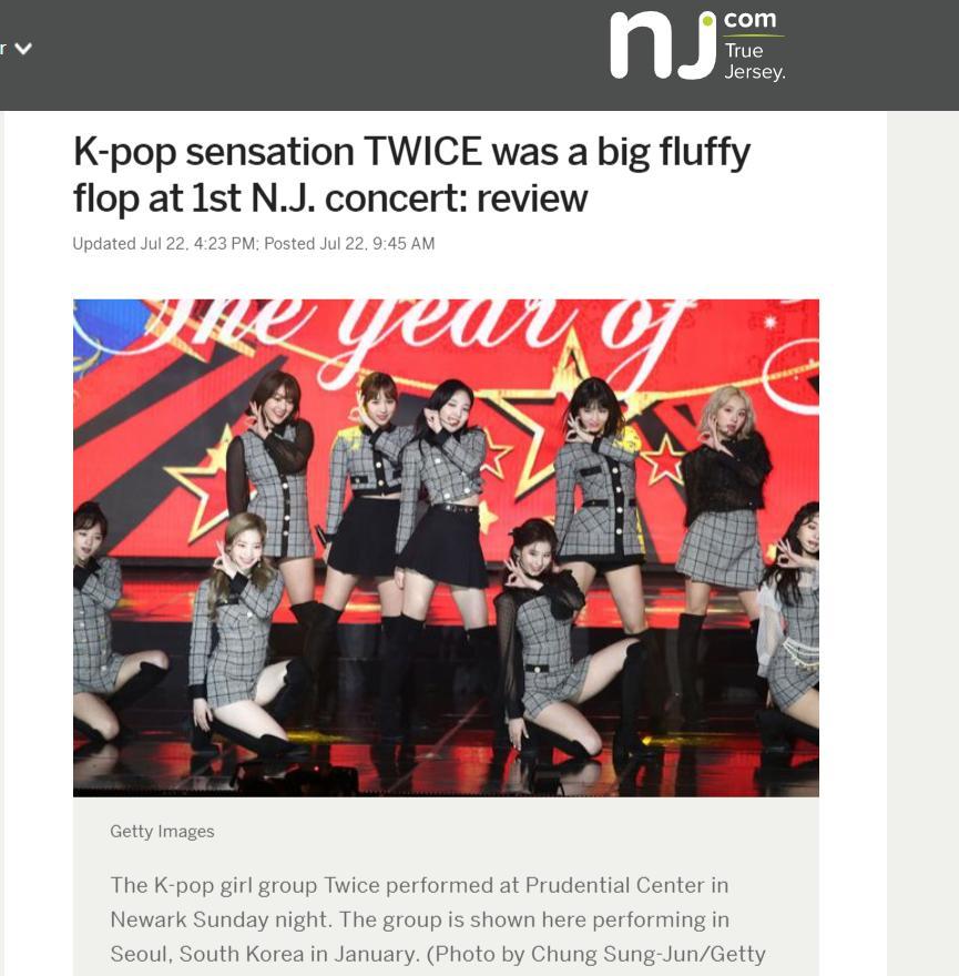 Concert của TWICE bị báo Mỹ vùi dập không thương tiếc: flop nặng, bất tài, biểu cảm như robot-1