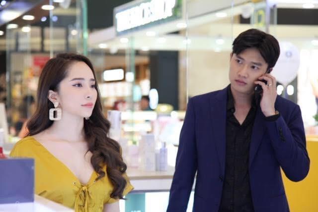 Quỳnh Nga: Rất căng thẳng khi diễn cảnh cưỡng hôn Quốc Trường-1