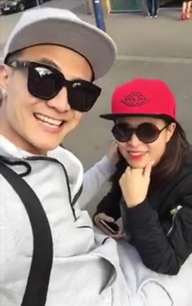 Vĩnh Thụy bất ngờ chia sẻ clip tình tứ với Hoàng Thùy Linh, dân mạng nghi cặp đôi châu về hợp phố-1