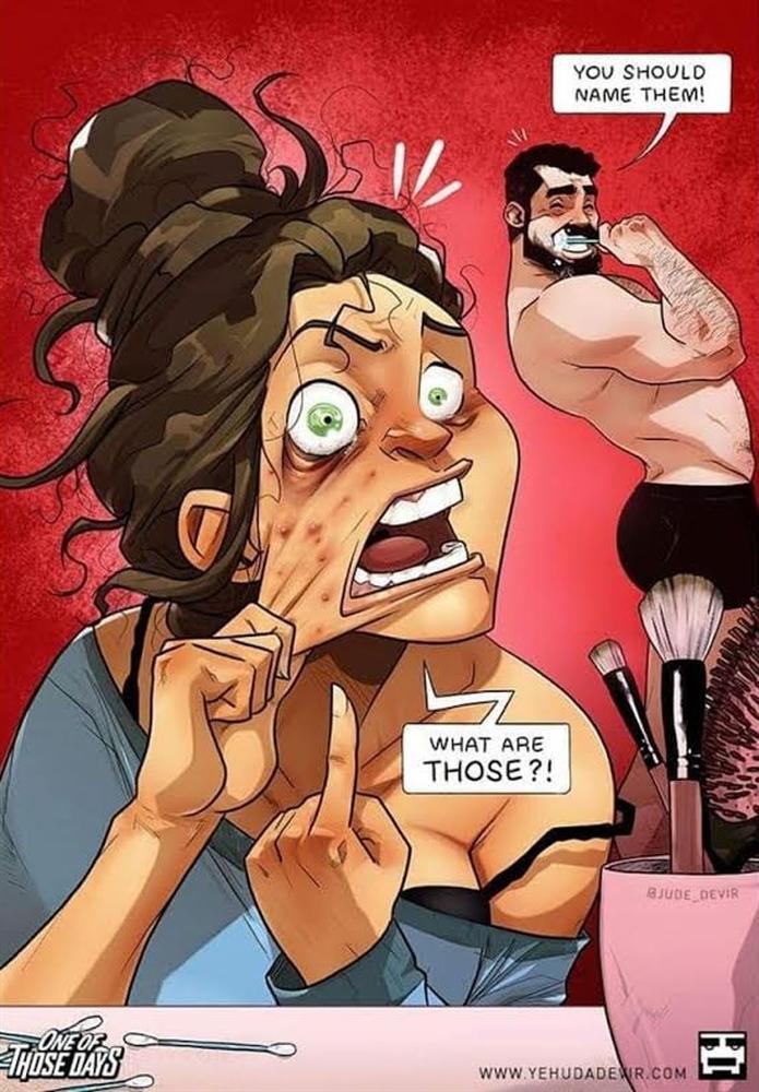 Bộ ảnh tả thực nỗi thống khổ khi phụ nữ mang bầu hút nghìn like, xem xong vừa buồn cười vừa xúc động-4