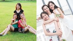 Dàn hotgirl sinh ra trong nhà có 3 chị em gái đều tài năng, xinh đẹp