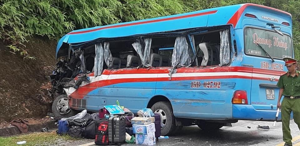 Xe chở cán bộ Cung VH thiếu nhi Hải Phòng gặp nạn ở Tuyên Quang, 2 cô giáo thiệt mạng-1