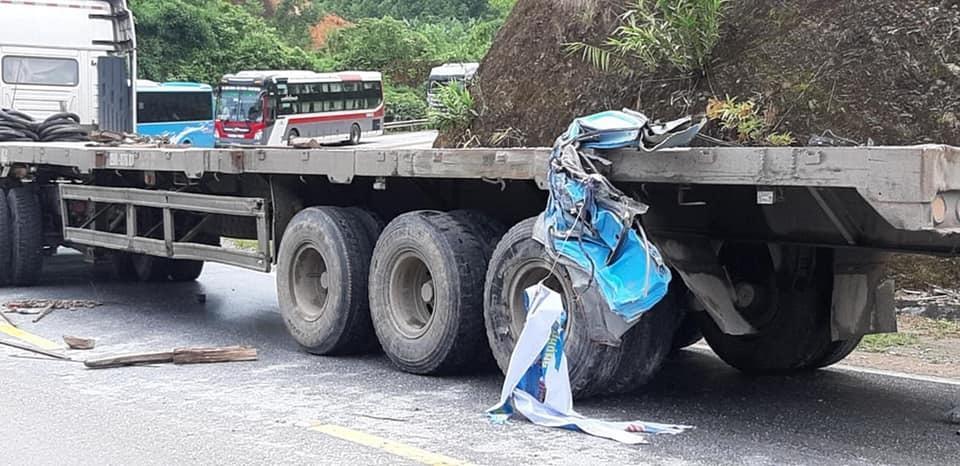 Xe chở cán bộ Cung VH thiếu nhi Hải Phòng gặp nạn ở Tuyên Quang, 2 cô giáo thiệt mạng-2