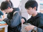 Ngay buổi đầu nhập học, nam sinh viên đã khiến hội gái xinh muốn 'trụy tim' chỉ với 1 bức ảnh bị chụp trộm