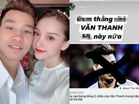 Văn Thanh đăng ảnh 'so deep', bạn gái vào bình luận 'chẳng liên quan'