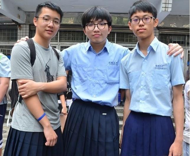 Trường học đầu tiên ở Đài Loan cho phép nam sinh mặc váy đi học-1