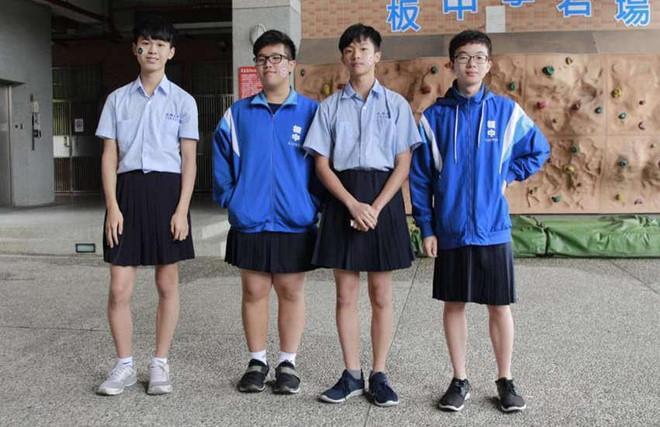 Trường học đầu tiên ở Đài Loan cho phép nam sinh mặc váy đi học-2