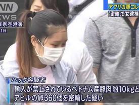 Chồng nữ sinh bị bắt vì mang 360 quả trứng và 10kg thịt lợn sang Nhật: 'Vợ tôi mang thêm ít đồ để ăn uống cho tiết kiệm'