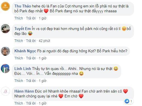 So độ đẹp trai với thầy Park, Phan Văn Đức bị fan đáp 'phũ phàng'-2