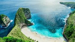 Vẻ đẹp 'rụng tim' của thiên đường nghỉ dưỡng Bali nhìn từ flycam