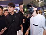 Ji Chang Wook cười vui vẻ, Super Junior kẹt giữa vòng vây của fan Việt