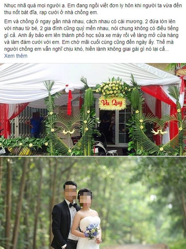 Mới cưới 2 ngày, cô dâu đang đếm phong bì với mẹ chồng nhận được tin nhắn chồng đang làm chú rể ở đám cưới khác-1