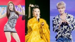 Hoàng Thùy Linh như  'bà hoàng' khi diễn cùng 'vị thần phương Đông' Kim Jae Joong và mỹ nữ sexy Hyomin