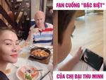 Bật mí clip đặc biệt chứng minh con trai 4 tuổi là fan cuồng của âm nhạc Thu Minh