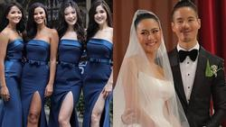 Dàn phù dâu của Hoa hậu Hoàn vũ Thái Lan: H'Hen Niê xinh đẹp với tóc dài nhưng lại lộ điểm bất thường