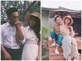 Cường Đô La mặc đồ thế nào khi ở bên cạnh Đàm Thu Trang?