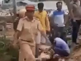 Cảnh sát giao thông bị tông hất văng ở Gia Lai, tài xế dương tính ma túy đá