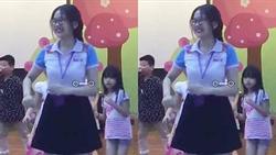 Dân mạng hoang mang trước câu chuyện bố quay cảnh con diễn văn nghệ ở trường nhưng video toàn hình ảnh cô giáo