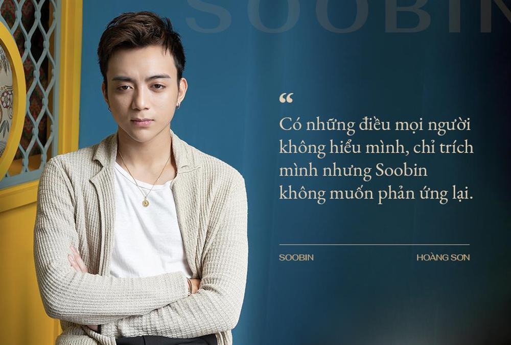 Soobin Hoàng Sơn: Sống trong ánh hào quang, người ta dễ nghĩ quẩn-7