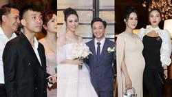 Đại gia Minh Nhựa cùng dàn sao đình đám tưng bừng đi ăn cưới Cường Đô La - Đàm Thu Trang