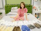 Sở thích sưu tập dép kỳ lạ của Hoa hậu Tường Linh - mỹ nhân đình đám khi thú nhận từng là 'Tuesday' trên sóng truyền hình