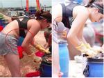 HHen Niê đi Sky Tour của Sơn Tùng M-TP với chiếc quần khoét quá nguy hiểm, suýt lộ vòng 3-8