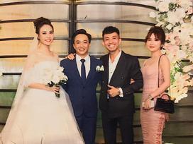 Khoe ảnh cùng bà xã trong đám cưới Cường Đô La, vợ chồng Minh Nhựa chiếm hết spotlight vì đẹp đôi chả kém cô dâu, chú rể