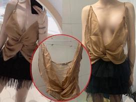 Xôn xao hotgirl bị tố bán váy 400 nghìn nhìn chẳng khác giẻ lau nhưng bất ngờ nhất là phản ứng ngược của dân mạng