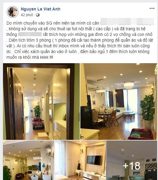 Từng tuyên bố để lại nhà cho vợ cũ và con trai sau ly hôn, Việt Anh bất ngờ rao bán công khai khắp cõi mạng-2