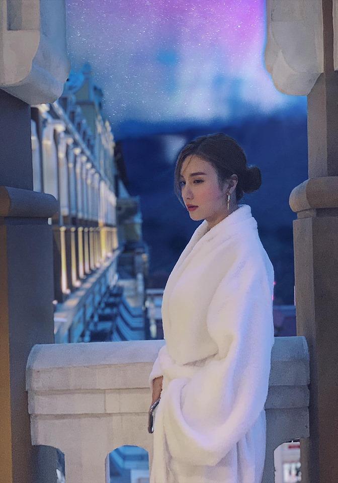 Midu đốn tim fans với khoảnh khắc siêu dễ thương cùng Ngô Kiến Huy ở hậu trường-3