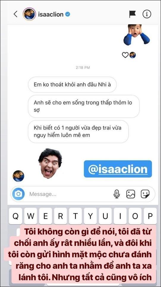 Khổ sở vì Isaac nhắn tin tán tỉnh, Diệu Nhi vẫn chọn hit của anh để biểu diễn cùng bạn trai-1