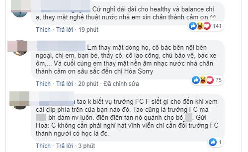 Hòa Mizny tuyên bố tạm dừng hoạt động nghệ thuật, hội anti-fan không ngờ cổ vũ quá nhiệt tình-4